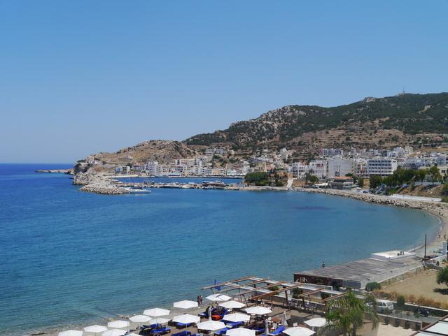 Utsikten fra rommet på Alimounda Mare